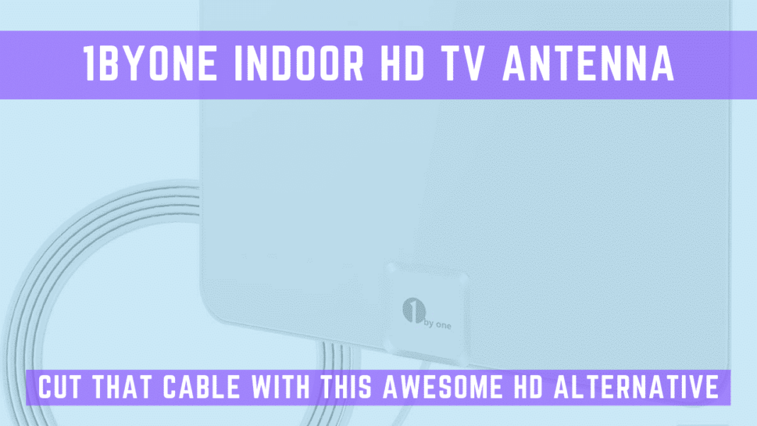 1BYONE INDOOR HD TV ANTENNA featured