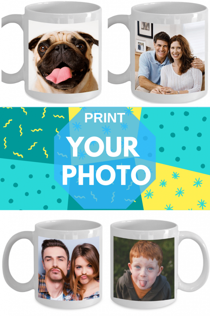 CUSTOM MUG WITH YOUR photo