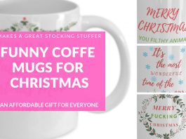 funny christmas mugs