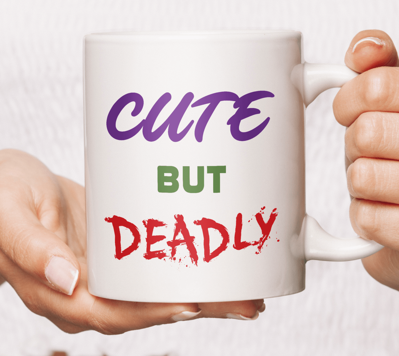 Cute but deadly mug coffee tea