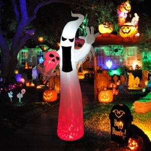 inflatable halloween ghost