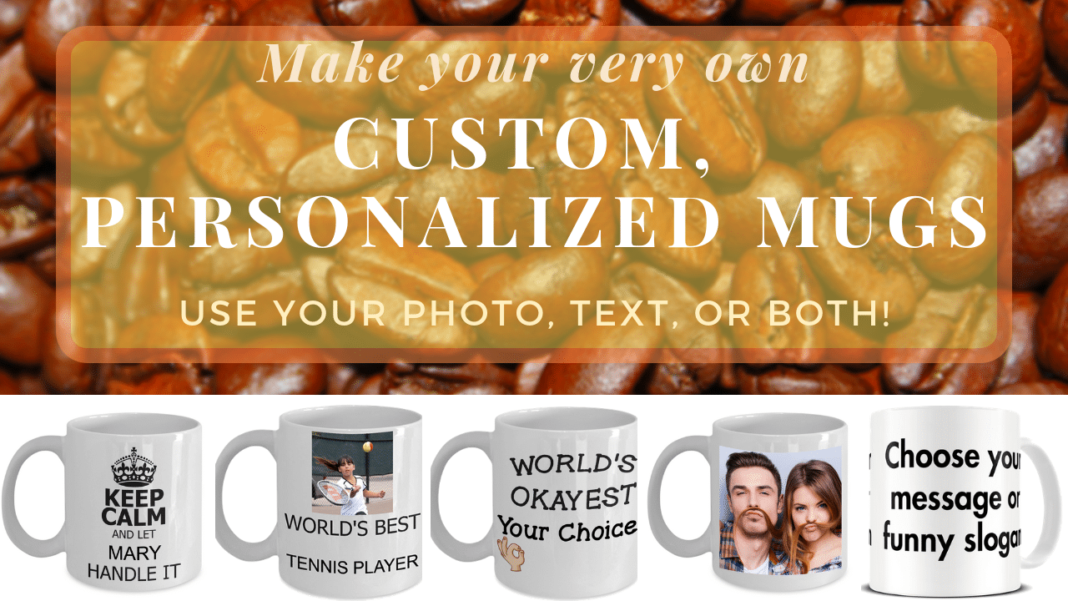 personalize your coffee mug