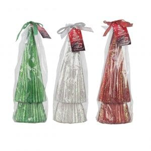 Christmas Tree Holiday Candles