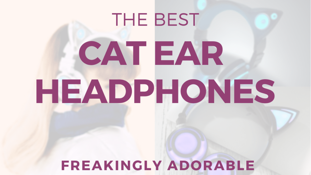 KITTY EAR HEADPHONES