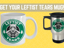 Leftist tears mug featured