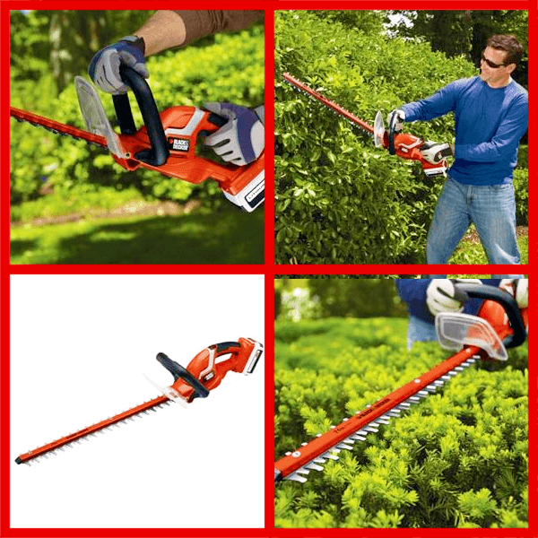 BLACK+DECKER 40V MAX Cordless Hedge Trimmer