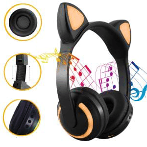 Cat Ear Bluetooth Headphones