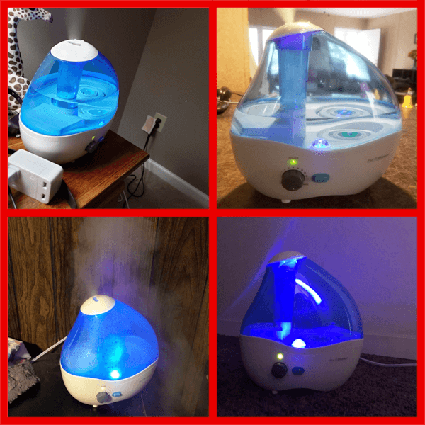 Cool Mist Humidifier pursteam
