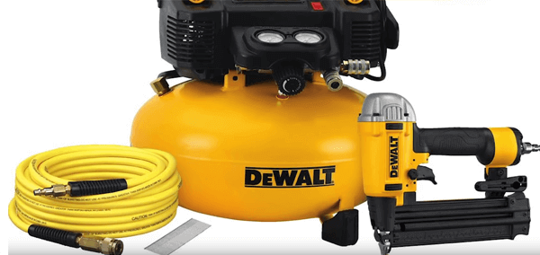 DEWALT DWC1KIT-B Brad Nailer and Compressor Combo Kit