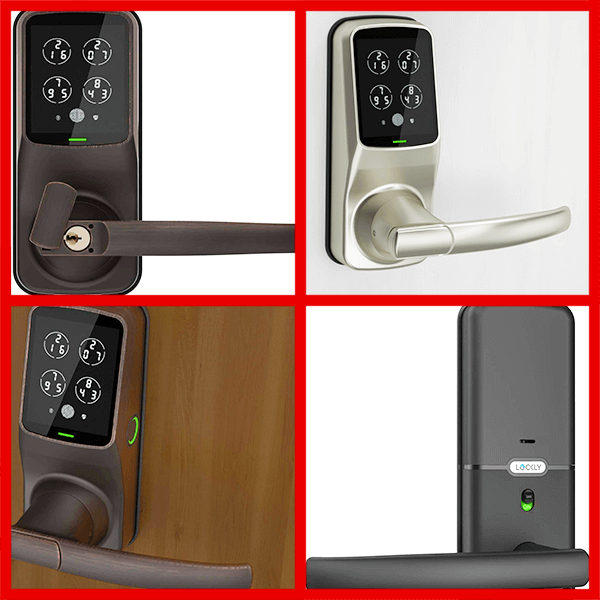 Lockly Bluetooth Keyless Fingerprint Smart Lock