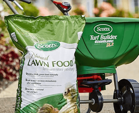 Scotts Natural Lawn Food fertilizer