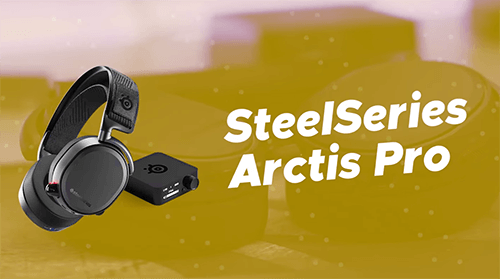 SteelSeries Arctis Pro headsets