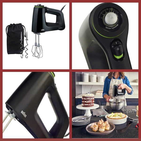 braun MultiMix 9-Speed Black Hand Mixer