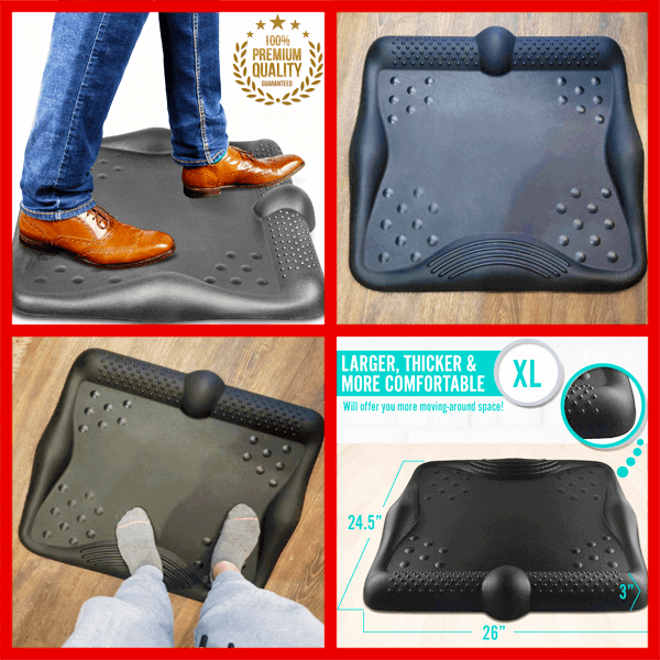 clever solutions Anti Fatigue Standing Desk Mat