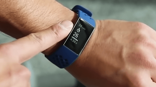 fitbit 3 charge smartwatch