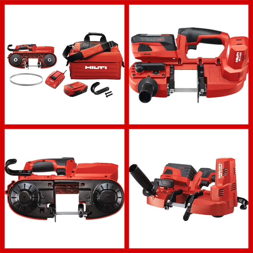 hilti Cordless Band Saw Kit