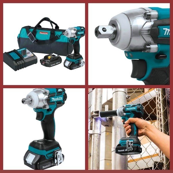 makita 3-Speed Impact Wrench Kit