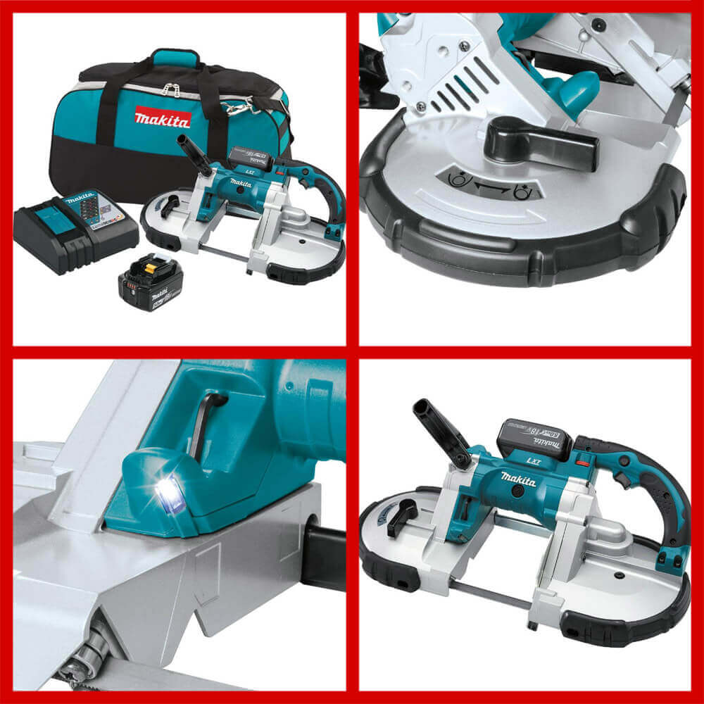 makita Lithium-Ion Cordless Portable Band Saw Kit
