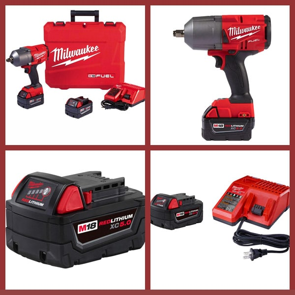 milwaukee Impact Wrench with Friction Ring Kit