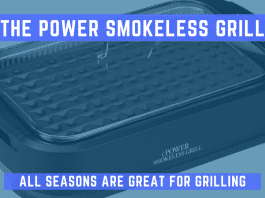 power smokeless grill featured