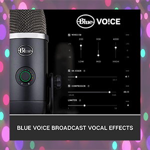 Blue Yeti X Vocal Effects